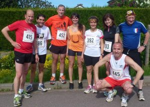 8 athlètes du FMAC à Vahl Ebersing
