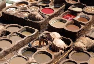 La tannerie Chouara de Fès