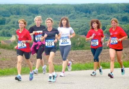 Les 6 filles dans le vent