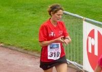 Francine à l'arrivée, plus de 7km finalement...(?)