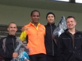 Podium Masculin 12KM