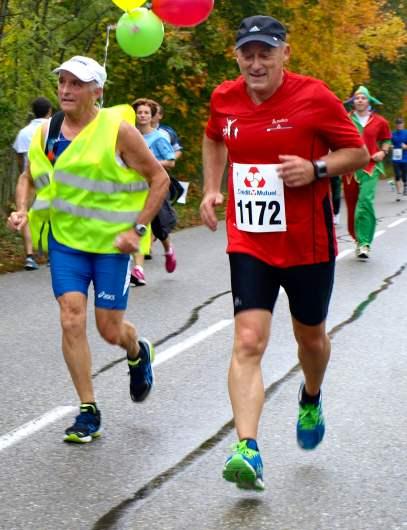 Roger accompagné par Claude Hubé