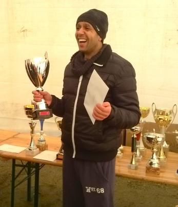 Mohammed Akifi Vainqueur de l'épreuve