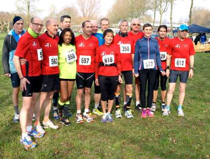 Le FMAC au départ du Semi-marathon de Sarrebruck