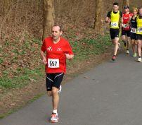 Malick au départ de la course