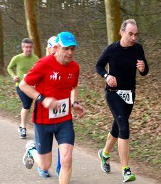Paul-Jean concentré sur sa course