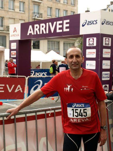 Malik aux championnats de France à Valenciennes