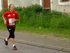 Lucie dans le sprint final