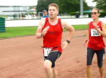 Sprint final pour Nicolas