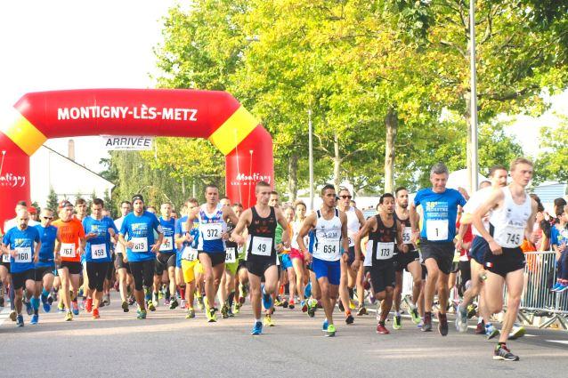 Départ du 13KM de Montigny