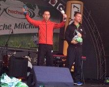 Eric sur le podium à Sarrebruck
