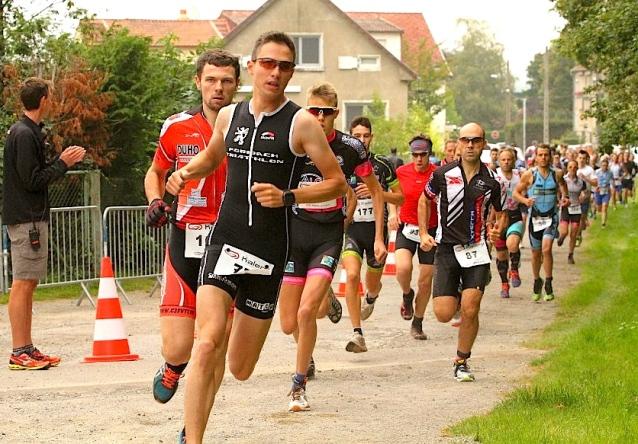 Sébastien dans la course