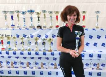Dominique Keller sur le podium des V1