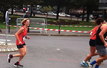 Francine en route pour une 6ème place V3