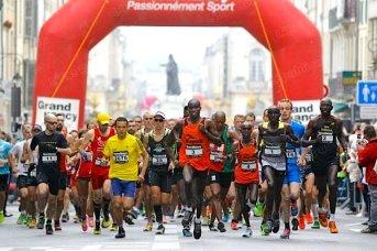 Départ du semi-marathon de Nancy