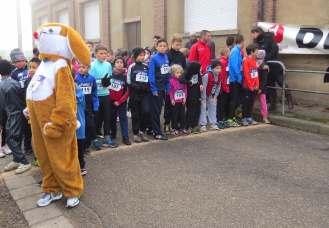 Départ de la première course des enfants