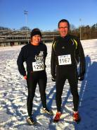 Clara et Didier au Silvesterlauf