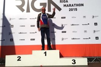 Joel au Marathon de Riga