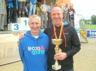 Laurent et Pascal au Championnat de Lorraine du semi-marathon à Verdun