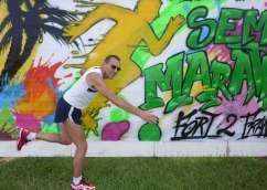 Didier aux championnats de France du Semi-Marathon