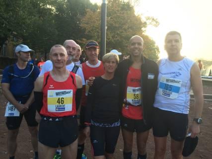 La délégation du FMAC au marathon de Metz 2015