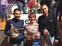 3 athlètes sur le podium à Ottweiler