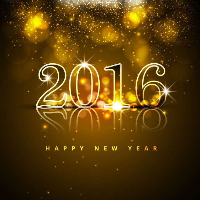 Bonne année 2016