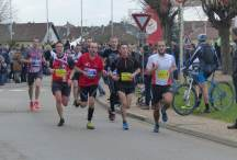 Malik dans la course