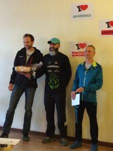 Un podium pour Laurent