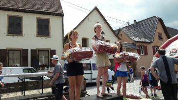 Francine 2ème au 10KM de Molsheim