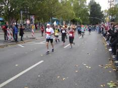 Lucie en course